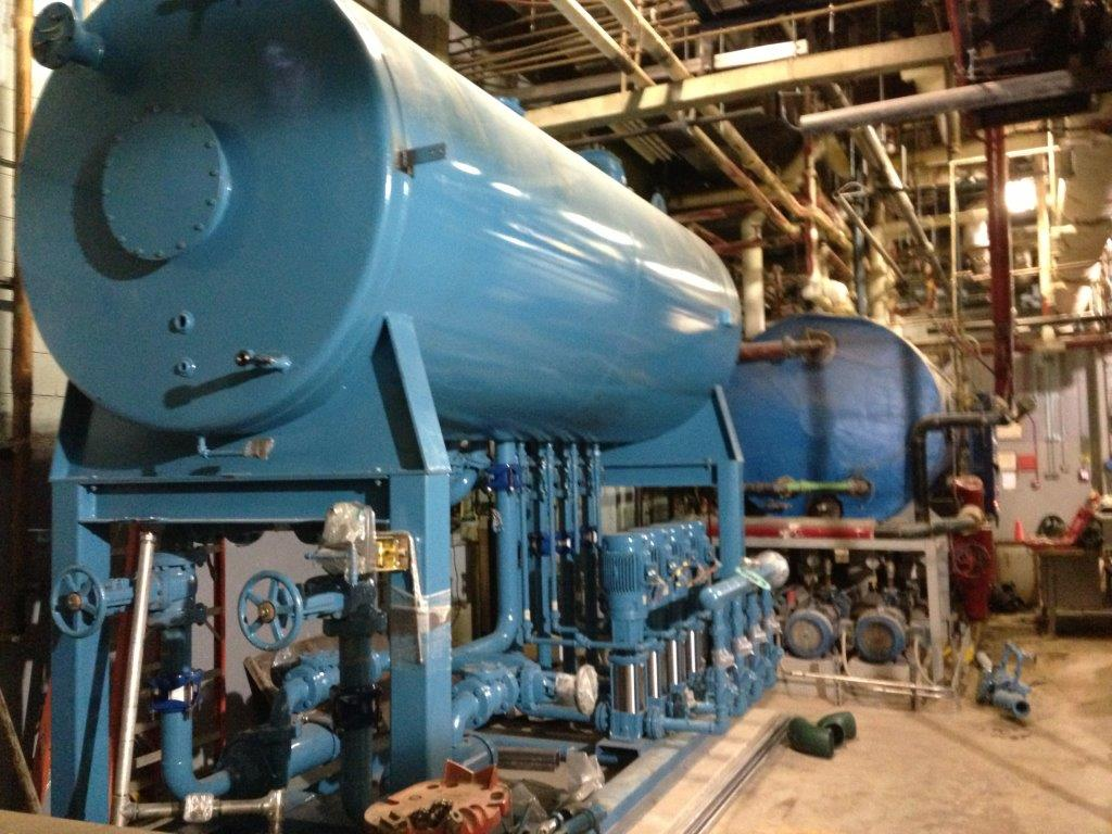 Mercy Hospital Boiler Project | The YMI Group