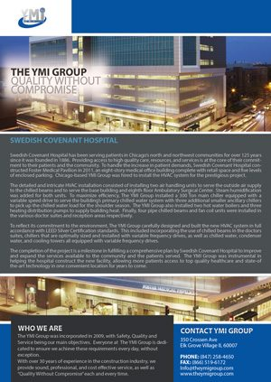 YMI Group Swedish Covenant Case Study 2015