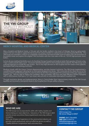 YMI Group Mercy Hospital Case Study 2015