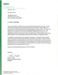 The-Walsh-Group---Federal-and-National-Healthcare---Testimonial-Thumb